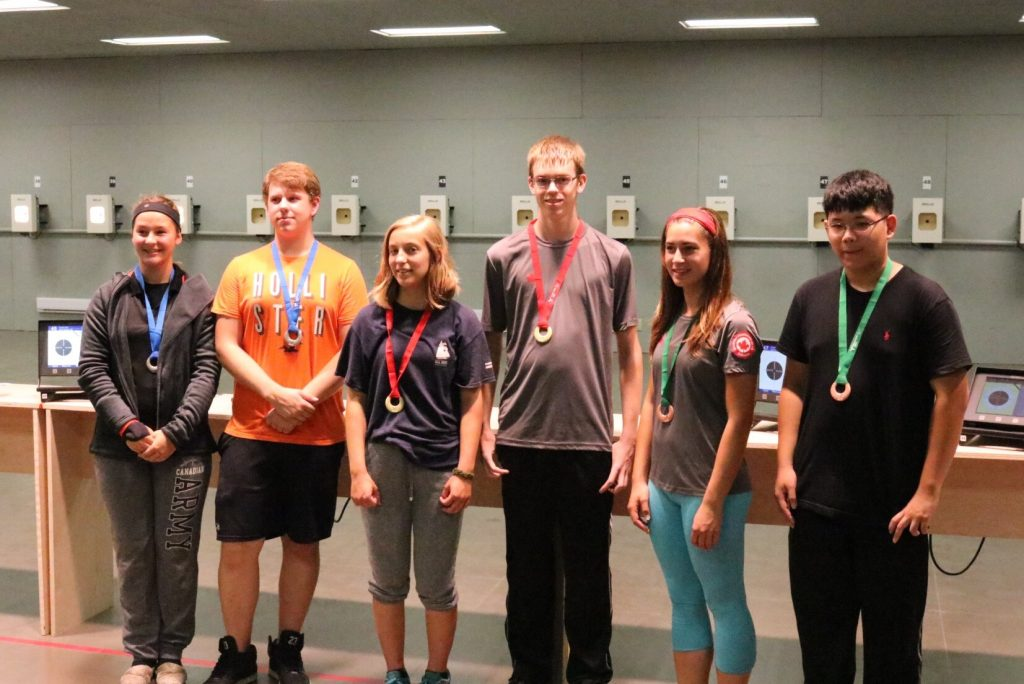 Air Rifle team winners